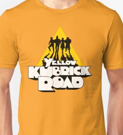 Yellow Kubrick Road T-Shirt