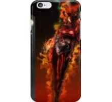 Machine Nightmare {Red} [ Fantasy Figure Illustration ] iPhone Case/Skin