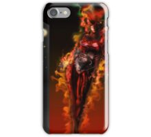 Machine Nightmare {Red} [ Fantasy Figure Illustration ] iPhone Case/Skin