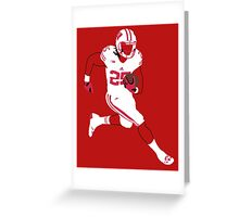 Melvin Gordon Greeting Card