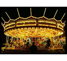 Fair Ground Photographic Print