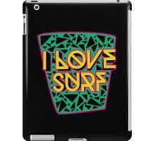 i love surf iPad Case/Skin
