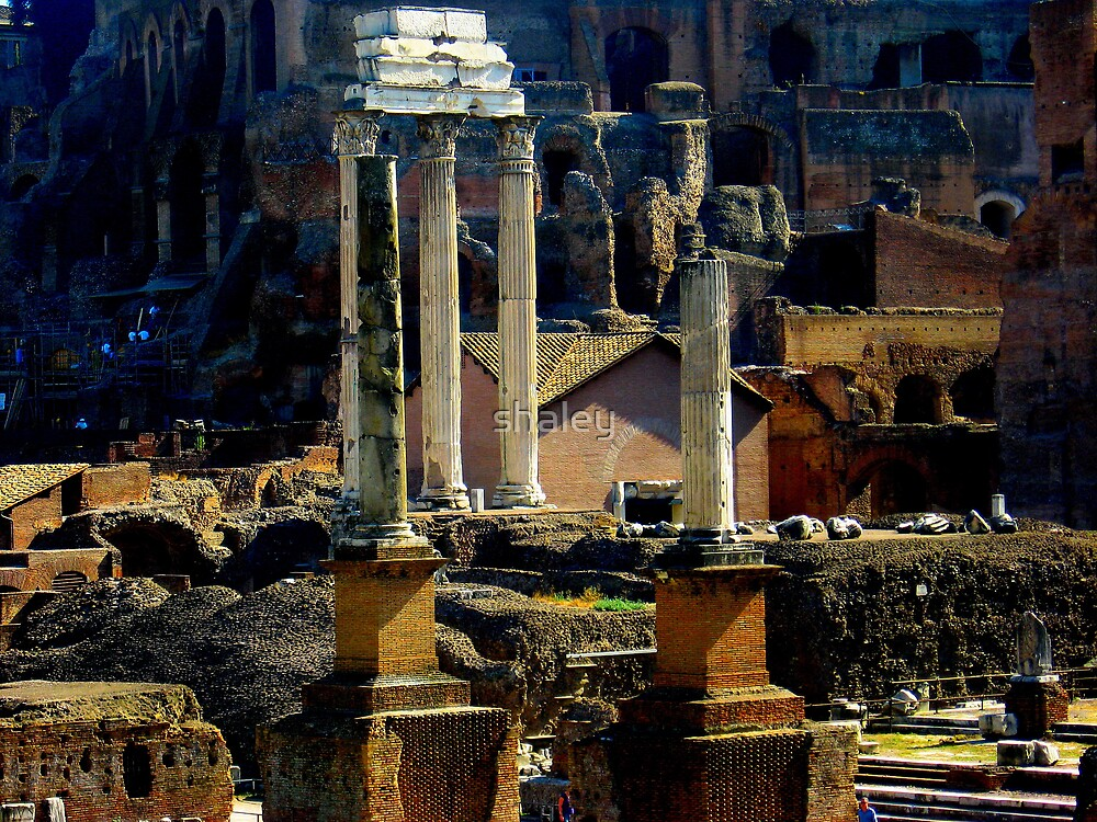 Roman Ruins by shaley
