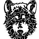 Tribal Wolf by thyearlofgrey