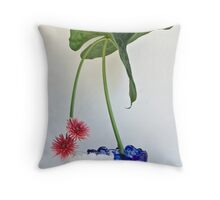 Ikebana-051 Throw Pillow