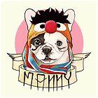Manny the Frenchie by PaperTigressArt