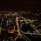 Paris At Night by Michael  Newman