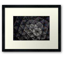 Tricky Tessellation Framed Print