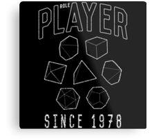 Role Player Metal Print