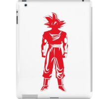 Warrior (red) iPad Case/Skin