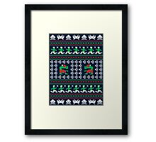 Games of Christmas Past Framed Print