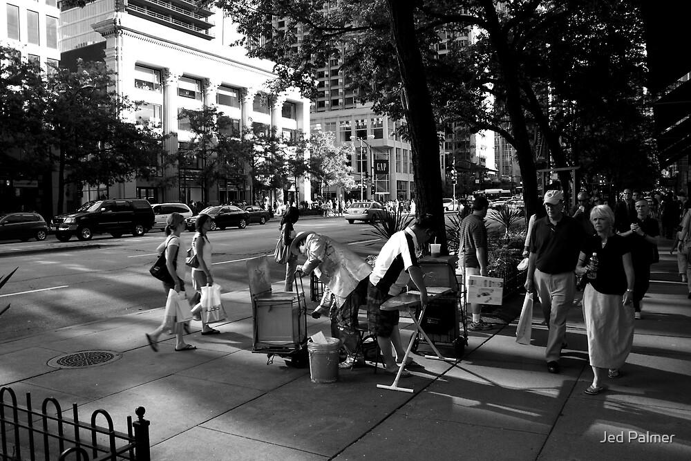 Street Performer Turf War by Jed Palmer
