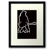 Stencil Slash Guns N Roses Framed Print