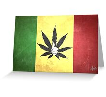 Thumbs Up If You Love Weed Greeting Card
