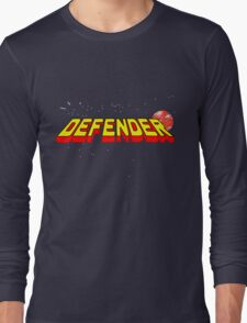 Arcade Classic - Defender. Long Sleeve T-Shirt