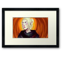 Elf lady 2 Framed Print