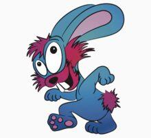 Happy Bunny Rabbit  Kids Tee