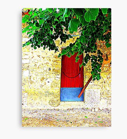 A Door In Orient.....................................Majorca Canvas Print