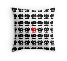 Toothless' Tail Fin Repeating Throw Pillow