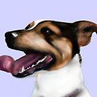 Smartie Jack Russell Terrier Design by Sookiesooker