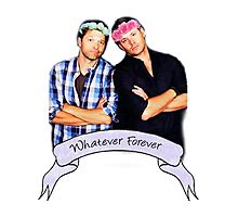 Misha and Jensen Photographic Print