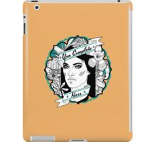 "Debra- ""You Complete Mess"" iPad Case/Skin"
