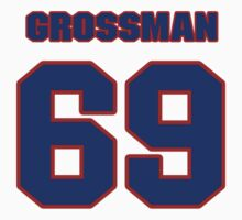 National football player Burt Grossman jersey 69 by imsport