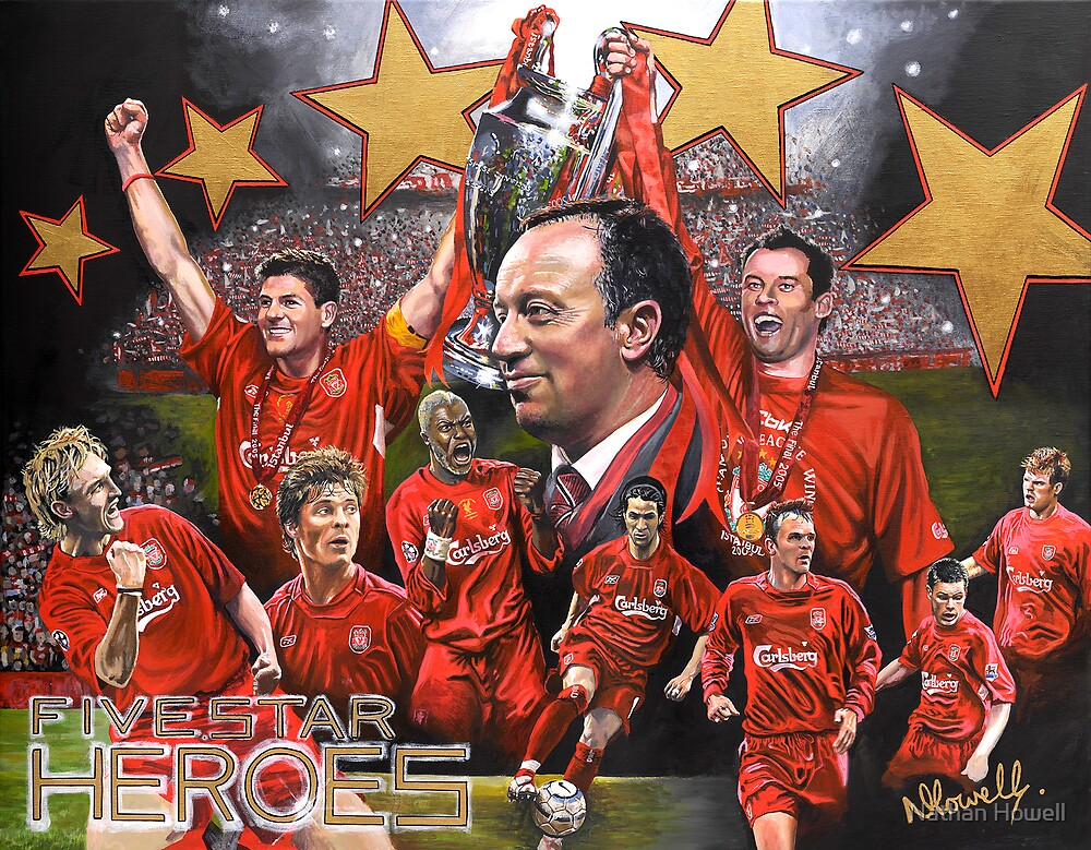 LFC 'Five Star Heroes' by Nathan Howell
