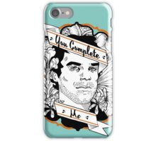 """Dexter- """"You Complete Me"""" iPhone Case/Skin"""