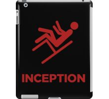 Inception minimal poster iPad Case/Skin