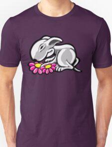 English Bull Terrier Daisy Unisex T-Shirt