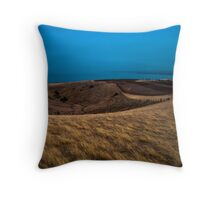View of the Blue... Throw Pillow