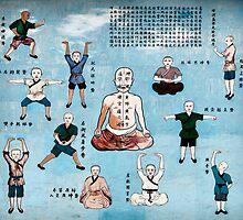 Qi Gong wall mural in China art photo print by ArtNudePhotos