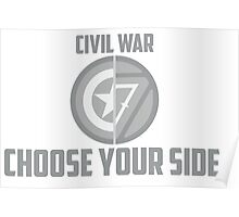Marvel Civil War - Choose Your Side V.01 Poster