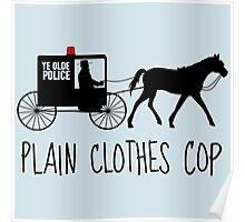 Plain Clothes Cop Poster
