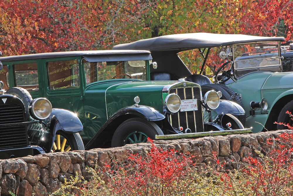 Antique Cars by socalgirl