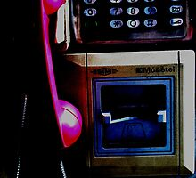 pink phone by true