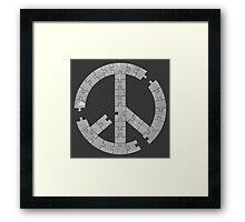 Puzzle Peace Framed Print