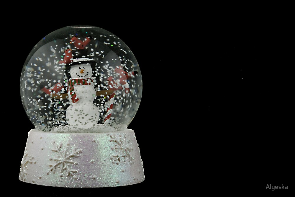 Christmas Snow Globe by Alyeska