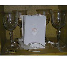 embraced - carols holy wedding bible   Photographic Print
