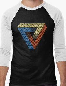 Penrose Puzzle Men's Baseball ¾ T-Shirt