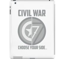 Marvel Civil War - Choose Your Side V.01 iPad Case/Skin
