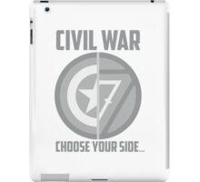 Marvel Civil War - Choose Your Side V.01 iPad Case/Skin