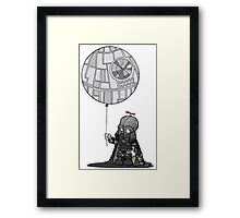Darth jr Framed Print
