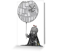 Darth jr Greeting Card