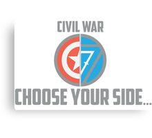 Marvel Civil War - Choose Your Side V.02 Canvas Print