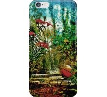 The Tale of the Basketball in the Garden iPhone Case/Skin