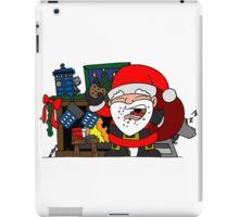 Whovian Santa iPad Case/Skin