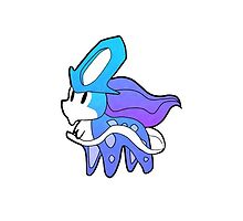 Cute Chibi Suicune by dragonoidliz