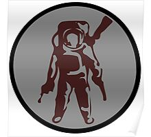 The Astronuts Logo (Just Icon) Poster